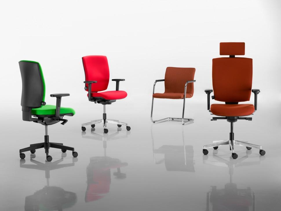 Kancelářské židle a křesla série RIM Anatom nabízíme i v Olomouci, Přerově, Prostějově a Šumperku