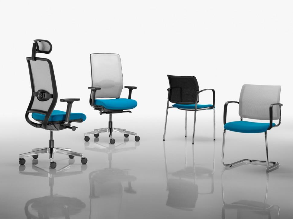 Kancelářské židle a křesla série RIM nabízíme i v Olomouci, Přerově, Prostějově a Šumperku