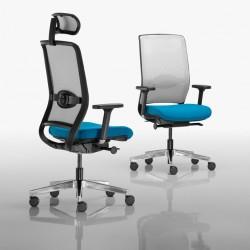 Kancelářské židle a křesla série RIM NET nabízíme i v Olomouci, Přerově, Prostějově a Šumperku