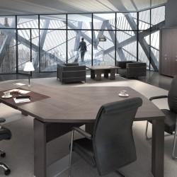 Manažerský kancelářský nábytek řady EXNER nabízíme i v Olomouci, Přerově, Prostějově a Šumperku