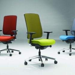 Kancelářské židle akřesla RIM aLD seating jsou nyní kdispozici iv Olomouci aPřerově.