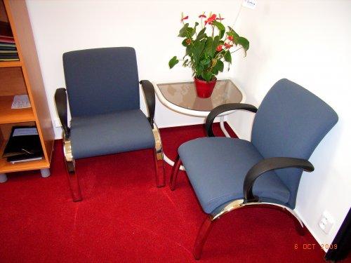 Česká židle - SINTAKA realizace kanceláře vOlomouci aPřerově
