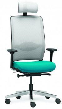 Kancelářské židle akřesla série RIM NET nabízíme iv Olomouci, Přerově, Prostějově aŠumperku