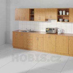 Řadu kancelářského nábytku HOBIS doplňují ikuchyně. Nabízíme je iv Olomouci, Přerově, Prostějově aŠumperku