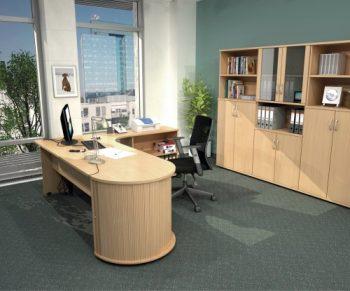 Kancelářský nábytek série HOBIS GATE nabízíme i v Olomouci, Přerově, Prostějově a Šumperku
