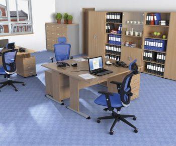 Kancelářský nábytek série HOBIS PROXY nabízíme i v Olomouci, Přerově, Prostějově a Šumperku