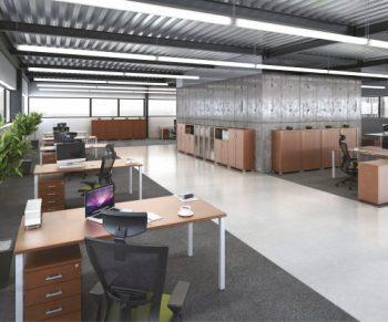 Kancelářský nábytek série HOBIS UNI nabízíme i v Olomouci, Přerově, Prostějově a Šumperku