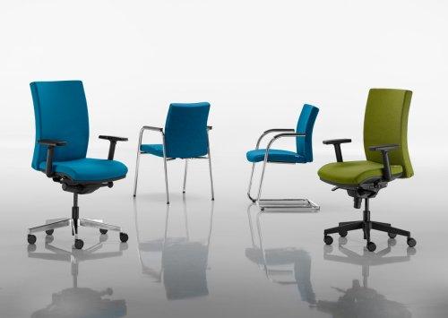 Kancelářské židle a křesla série RIM Focus nabízíme i v Olomouci, Přerově, Prostějově a Šumperku