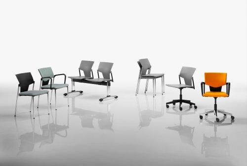 Kancelářské židle akřesla série RIM Kvadrato nabízíme iv Olomouci, Přerově, Prostějově aŠumperku