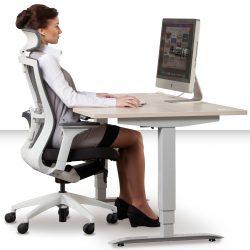Jak správně sedět nakancelářské židli vám vOlomouci aPřerově poradí Česká židle.